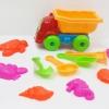 P057 ชุดอุปรณ์ ทรายนิ่ม Soft Sand Play Sand ชุดรถบรรทุกพร้อมอุปกรณ์ (ไม่รวมทราย)