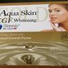 Aqua Skin Gold EGF Whitening (Swiss) ใช้ได้ถึง 18 ครั้ง เปลี่ยนผิวหมองคล้ำไร้ชีวิตชีวาให้ขาวใส เปล่งปลั่ง เรียบเนียน ให้ผิวสวยครบสูตร