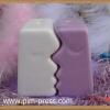 กระปุกพริกไทยเซรามิกจิกซอว์คนจูบกันเล็ก