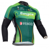 เสื้อปั่นจักรยาน แขนยาว EUROPCAR พร้อมส่ง