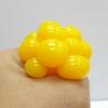 PB009 ลูกบีบ Magic Ball เด้งได้บีบสนุกมือ 4 cm สีเหลือง