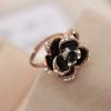 แหวนดอกกุหลาบสีดำ