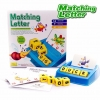 BO067 Matching-Letters game ลูกเต๋าสะกดคำ เกมส์บอร์ด เสริมพัฒนาการ IQ และการเรียนรู้ภาษาอังกฤษ