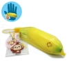 I208 สกุชชี่ Mini Cheeki Banana Squishy- Yellow By Puni-maru (Super Soft) ขนาด 5 cm