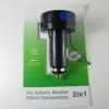 วัดแรงดันไฟและอุณหภูมิ dual-function ( voltmeter และ thermometer)