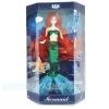 BA002 ตุ๊กตาบาร์บี้ นางเหงือก สีเขียว