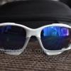 แว่นตาปั่นจักรยาน Oakley Jawbone ขาว-เทา