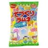 M062 Tezukuri Ramune ชุดทำลูกอมหลากสีด้วยตัวเอง มีผงทำลูกอม 3 สีหลักให้น้องๆหนูๆได้ลองผสมและทำลูกอมออกมาได้หลากหลายสี สนุกด้วย อร่อยด้วยค่ะ