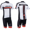 ชุดปั่นจักรยาน Castelli White เสื้อปั่นจักรยาน และ กางเกงปั่นจักรยาน