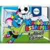 KN014 Knabber Esspapier Fußball Edition ขนมกระดาษ มี อย ลาย ฟุตบอล คละแบบ 1 ห่อ รสผลไม้รวม (ลาย A)