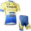 ชุดปั่นจักรยาน Tinkoff Saxo เสื้อปั่นจักรยาน และ กางเกงปั่นจักรยาน- M0F01
