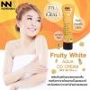 Fruity White Aqua DD Cream by NNK Nongnaka น้องนะคะ ฟรุ๊ตตี้ ไวท์ อควา ดีดี ครีม กันแดด กันน้ำ กันเหงื่อ