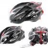 หมวกกันน๊อค จักรยาน Giro สีดำแดง