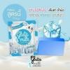 สบู่นมมุก (สูตรเย็น) สีฟ้า Gluta milk Cooling fresh เรทส่ง 40-45 บาท