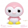 I195 สกุชชี่ I-Bloom Little Penguins - Happy ขนาด 10 cm ลิขสิทธิ์แท้