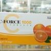 ซีฟอร์ท C-Force 1000 mg 60 เม็ด วิตามินซีช่วยป้องกันภูมิแพ้ เรทส่ง 200 บาท