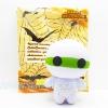 I139 สกุชชี cutie creative Hallowing Mummy eye GLOW in the dark มัมมี่ เรืองแสง ขนาด 15 cm (SUPER SOFT) ลิขสิทธิ์แท้