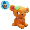CB259 สกุชชี่ หมีบราว By lovely dog squishy (super soft) ขนาด 5 cm ลิขสิทธิ์แท้