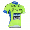 เสื้อปั่นจักรยาน แขนสั้น Thinkoff Saxo 2015 พร้อมส่ง