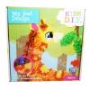 DI019 PlushCraft™ Giraffe Picture Broad DIY ยัดผ้า Series รูปภาพ ยีราฟ ของเล่น-กิจกรรมยามว่าง