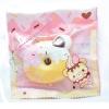 I171 สกุชชี่ Yummiibear Creamiicandy mini donut squishy โดนัท ชมพูขาว ขนาด 6 cm (Super Soft) ลิขสิทธิ์แท้