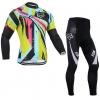 ชุดปั่นจักรยาน แขนยาว Fox เสื้อปั่นจักรยาน และ กางเกงปั่นจักรยาน