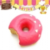C824 Sammy the Patissier Donut Squishy Mascot Ball Chain ( SOFT) 7 cm ลิขสิทธิ์แท้