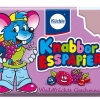 KN005 Knabber Esspapier ขนมกระดาษ สุดฮิต สีม่วง (รสมิกซ์เบอร์รี่)