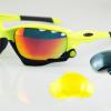 แว่นตาปั่นจักรยาน Jawbone เหลืองดำ