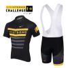 ชุดปั่นจักรยานแขนสั้นทีม LiveStrong เสื้อปั่นจักรยาน กับ กางเกงปั่นจักรยาน(แบบมีเอี่ยม)