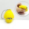 CA197 squeez toy ปลาหมึก เหลือง( SUPER SOFT) 6 cm