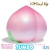 I125 I-bloom Jumbo Peach 2016 จำนวน 1 ชิ้น สกุชชี่ ไอบูม พีช จัมโบ้ สีชมพู ขนาด 13 CM