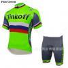 ชุดปั่นจักรยาน Tinkoff Saxo 2016 Flou Green เสื้อปั่นจักรยาน และ กางเกงปั่นจักรยาน