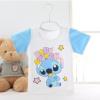 ไซส์ 3-6,6-9,9-12,12-18 เดือน เสื้อยืดเด็กผ้านิ่มเหมาะสำหรับหน้าร้อน ลายสติช