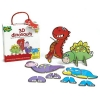 BO104 เกมส์บอร์ด เสริมพัฒนาการ 3D dinosaurs เสริม EQ และ IQ