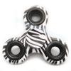 HF040 Hand spinner - GYRO (ไจโร) -Fingertip Gyroscope Basic ลาย Zebra