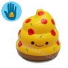 I213 สกุชชี่ Mini Crazy Poo squishy-pizza By Puni-maru (Super Soft) ขนาด 6 cm