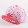 [ไซส์ 8-24 เดือน] Twinkle Star หมวกแก๊ปเด็กสไตล์เกาหลี น่ารัก สีชมพู
