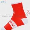 ถุงเท้าจักรยาน ถุงเท้าปั่นจักรยาน โปรทีม Castelli 3