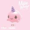 I164 สกุชชี่ millie mini สีชมพู (super soft) ขนาด 8cm ลิขสิทธิ์แท้ ญี่ปุ่น