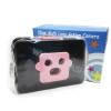 TY080 กล้องทอย Toy Camera โลโม่ 3 เลนท์ สีชมพู-ดำ ไม่ต้องใช้ถ่าน ใช้ฟิล์ม 35mm (ฟิลม์ซื้อแยกต่างหาก)
