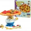 BO043 เกมส์บอร์ด เสริมพัฒนาการ Balancing Pizza เกมส์พิซซ่าหน้าเยอะ ใครใส่หน้าได้เยอะที่สุด ฝึกการแก้ปัญหา ไหวพริบ และสมาธิ