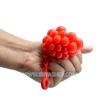 PB036 ลูกบีบ สีแดง เด้งได้บีบสนุกมือ