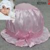 หมวกระบาย สำหรับเด็ก 0-3 เดือน สีชมพู
