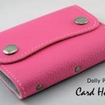 Dolly Pink(ชมพูอ่อน) - Card Holder