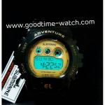 นาฬิกาข้อมือ us submarine ระบบดิจิตอล สีดำทอง หน้าปัดเล็ก กันน้ำ 30 เมตร