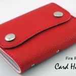 Fire Red(แดง) - Card Holder