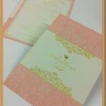 การ์ดแต่งงาน ADORA หน้าเดียว (B0221,ฺB0226)