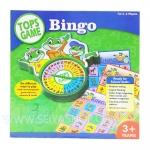 BO081 Tops Game Bingo เกมส์บิงโก 3 ประเภท เกมส์บอร์ด เสริมพัฒนาการ และ IQ EQ