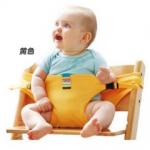 ที่นั่งเด็กเล็กแบบพกพา เด็ก 3-36 เดือน สีเหลือง